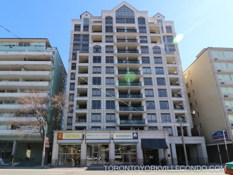 99 Avenue Rd Amenities Gym 24 Hour Concierge Visitor Parking Guest Suite Bicycle Locker Steam Room Landscaped Courtyard At Rear Of Building